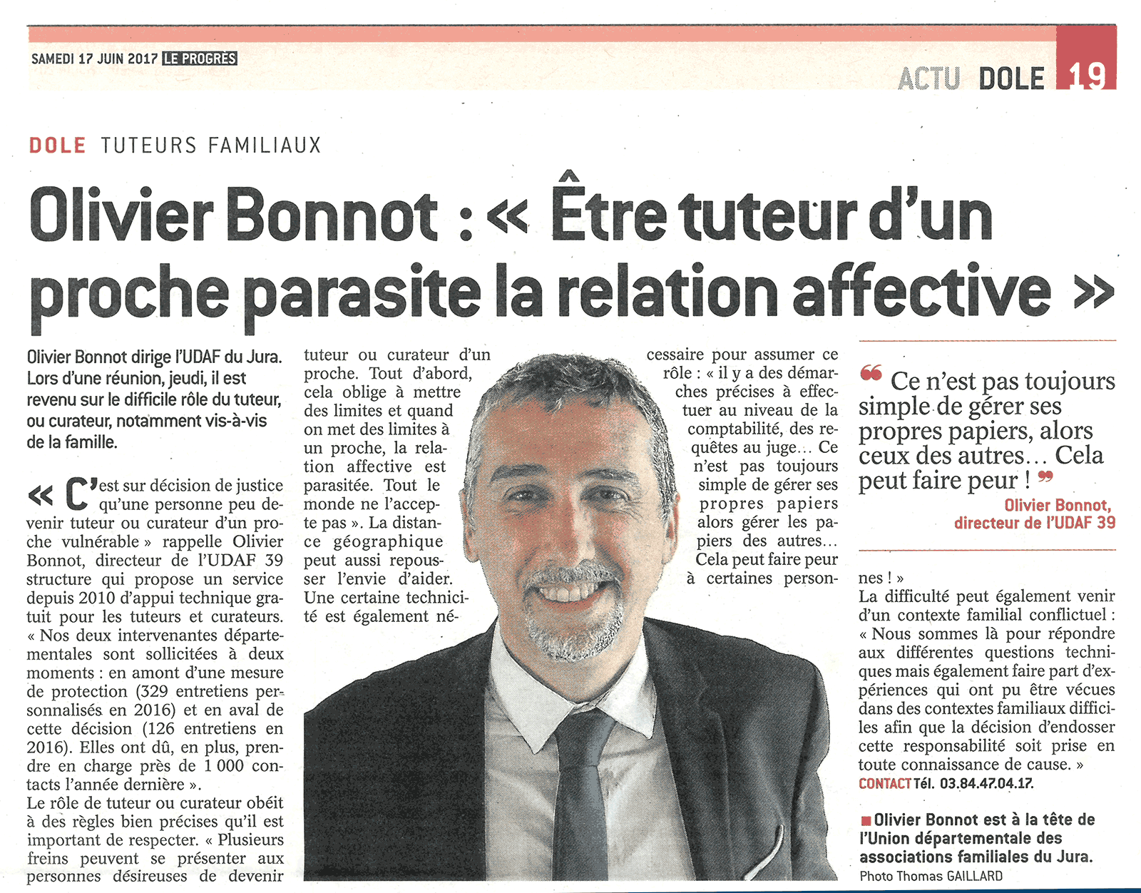 Article de presse sep 2017